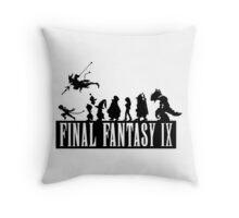 Final Fantasy IX - The Party Throw Pillow