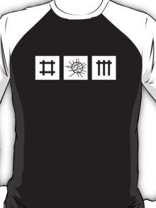 Depeche Mode : Sounds of the Universe Logo - White T-Shirt