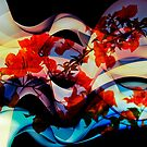 Bougainvillea At Joe's Secret Garden III by Al Bourassa