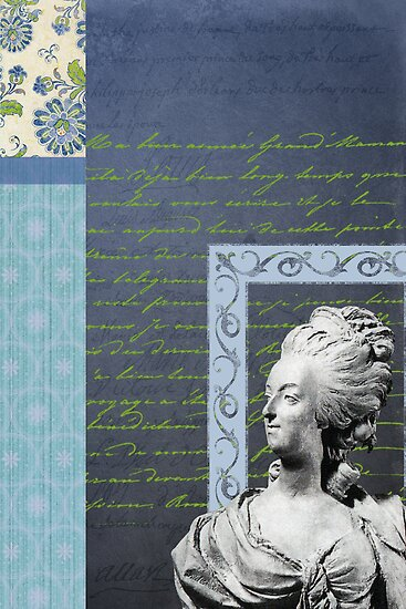 Statue in Blue by Melanie  Dooley