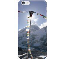Sagarmāthā (Mt. Everest) 8848 from Kala Patthar (black rock) 5643 iPhone Case/Skin