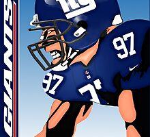 NFL New York Giants by Dan Snelgrove