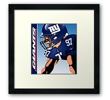 NFL New York Giants Framed Print