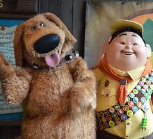 Disney Pixar UP Russell Dug  by notheothereye