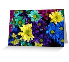 Rainbow Of Colours Greeting Card
