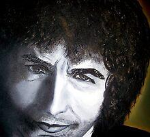 Bob Dylan by ValerieSherwood