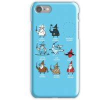 Know Your Wizards ! iPhone Case/Skin