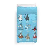 Know Your Wizards ! Duvet Cover