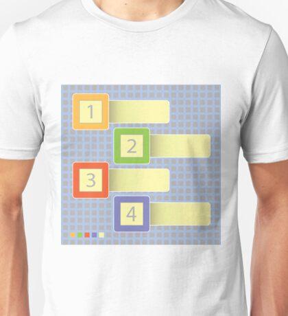 abstract progress icons Unisex T-Shirt