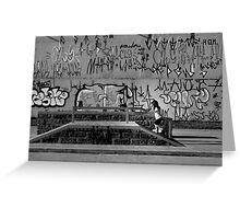 Urban Playground Greeting Card