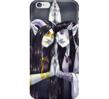 Faerie Sidhe Mirrored Sisters iPhone Case/Skin