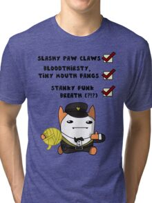 I'm a cat, see? Tri-blend T-Shirt