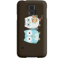 Owls Wedding Bride and Groom Samsung Galaxy Case/Skin