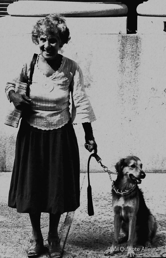 DOGGED LADY by Paul Quixote Alleyne