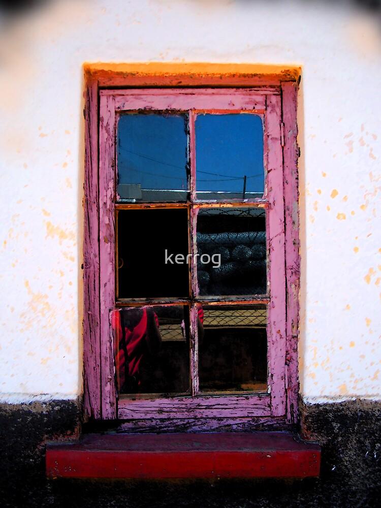 Pink Window by Kerryn Rogers