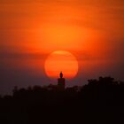 Buddha At Sunset by MarkStanden