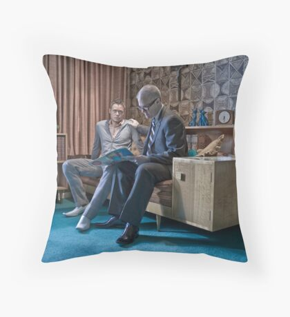 There's something about... Throw Pillow