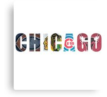 Chicago Sports Metal Print