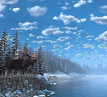 Christmas Day at Moose Lake by kenmo