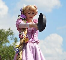 Disney Tangled Rapunzel Frying Pan by notheothereye