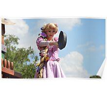 Disney Tangled Disney Rapunzel Frying Pan Disney Princess Poster