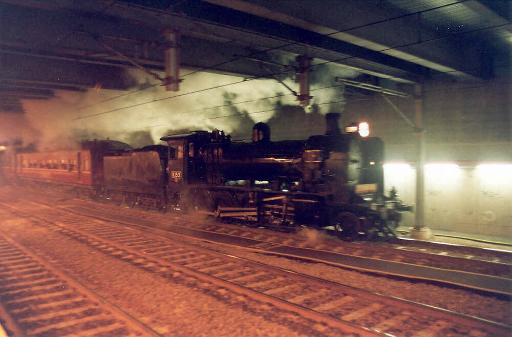 K Class Steam Locomotive by PhilipR