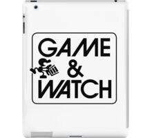 Game and Watch Man iPad Case/Skin