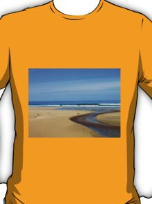 Meandering Waters, Tolsta Beach, Isle of Lewis T-Shirt