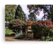 A front yard garden Canvas Print