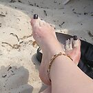 Toes In the Sand by Bernadette Claffey