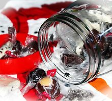 Christmas Candy Jar by Cynthia48