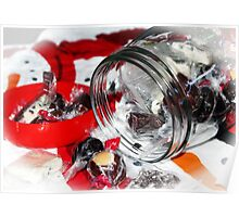 Christmas Candy Jar Poster