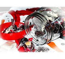 Christmas Candy Jar Photographic Print