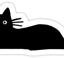Black Cat Sticker
