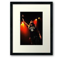 Johnny Solinger of Skid Row Framed Print