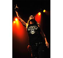 Johnny Solinger of Skid Row Photographic Print