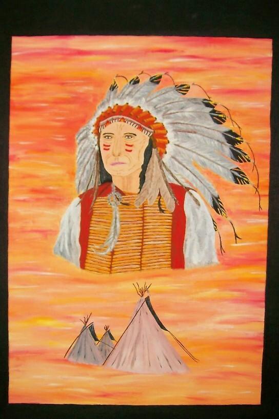 Indian spirit by Derek Trayner