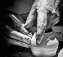 Hands of a Potter by George Petrovsky