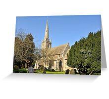 All Saints Church Greeting Card