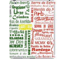 Country Word Mosaic - Portugal iPad Case/Skin