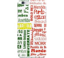 Country Word Mosaic - Portugal iPhone Case/Skin