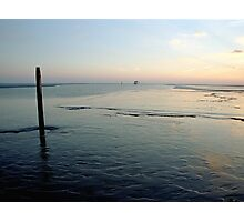 the Waddensea, the Netherlands Photographic Print