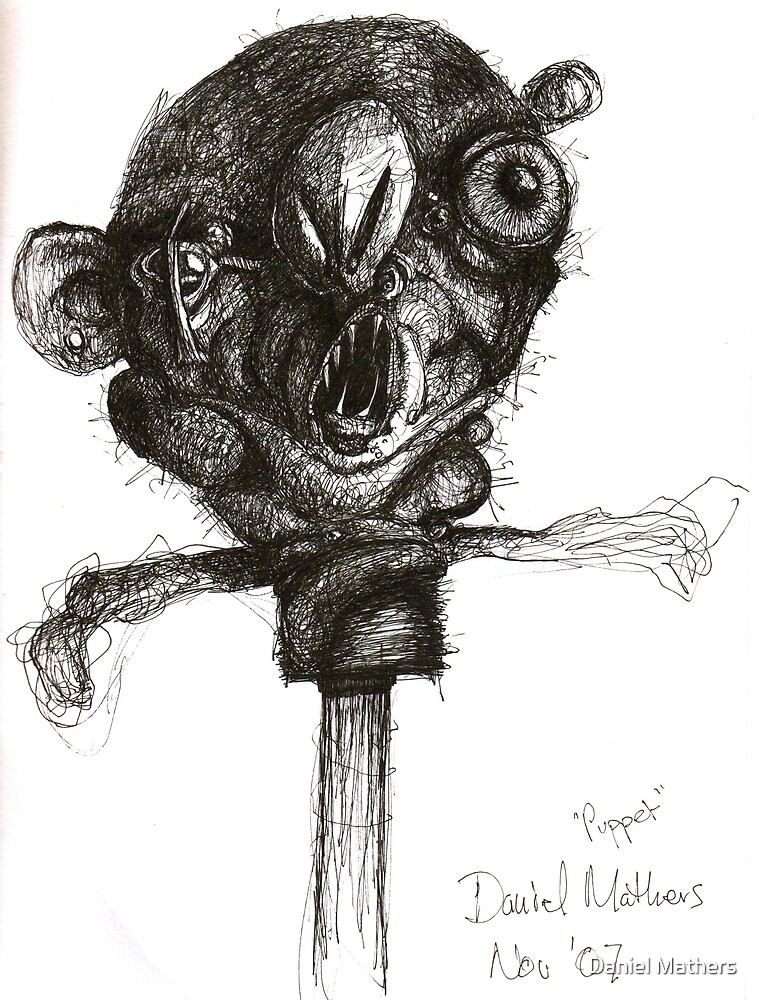 puppet by Daniel Mathers