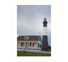 The Tybee Island Lighthouse Art Print