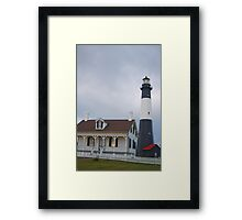 The Tybee Island Lighthouse Framed Print