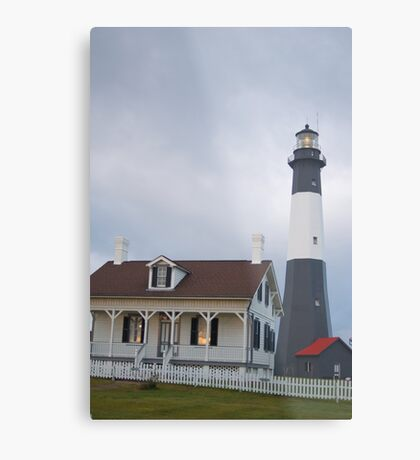 The Tybee Island Lighthouse Metal Print
