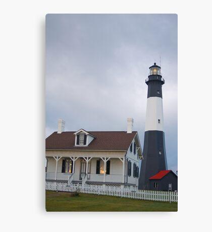 The Tybee Island Lighthouse Canvas Print