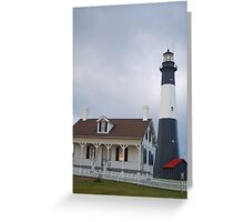 The Tybee Island Lighthouse Greeting Card