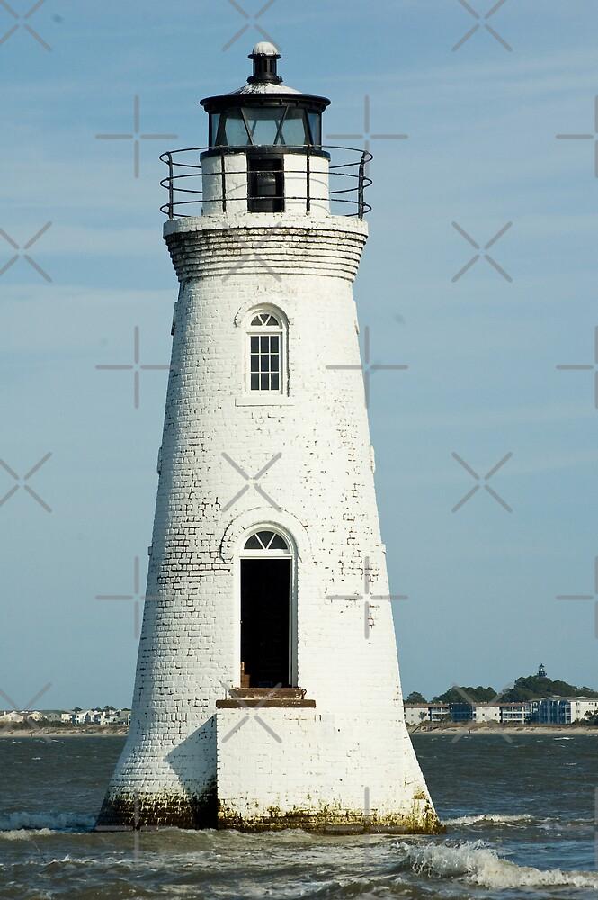 "The Cockspur Lighthouse by Arthur ""Butch"" Petty"