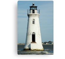 The Cockspur Lighthouse Canvas Print